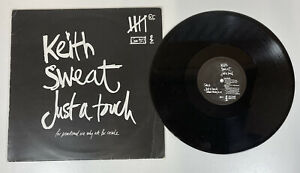 """Keith Sweat - Just A Touch (12"""", Promo) 12 Inch Vinyl Promotional Copy"""