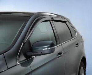 2015-2020 Lincoln MKX/Nautilas Genuine OEM Side Window Deflectors