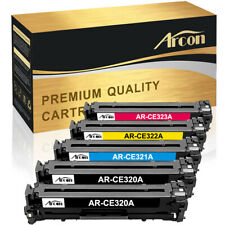 5 Pack Set for HP CE320A 128A Color Toner LaserJet Pro CM1415fnw CP1525 CP1525nw