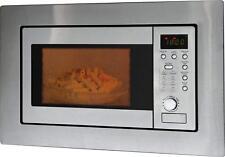 Bomann MWG 2215 EB Einbau Mikrowelle Edelstahl 20L mit Grill und Kindersicherung