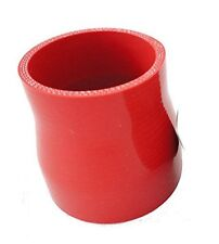 """RED 2.5""""-3"""" Straight Silicone Reducer Hose Coupler Intake Turbo Intercooler Pipe"""