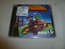 BRAND NEW SEALED SEGA DREAMCAST VIDEO GAME STUPID INVADERS UBI SOFT NFS RARE