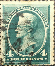 Scott #211 US 1883 4 Cent Jackson Bank Note Stamp