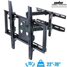 "Articulating TV Wall Mount 40 46 50 55 60 65 70"" LCD LED Swivel Tilt Fit Most TV"