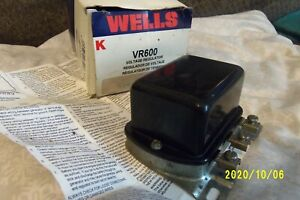 Wells VR600 Voltage Regulator Ford Mercury New