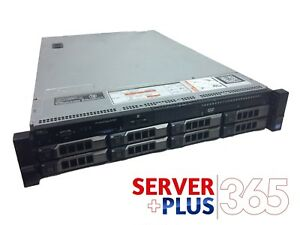 Dell PowerEdge R720 3.5 Server, 2x E5-2660V2 2.2GHz 10Core, 32GB, 8x Tray, H710