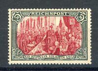 Deutsches Reich MiNr. 66 IV mit Falz geprüft Jäschke (MA820