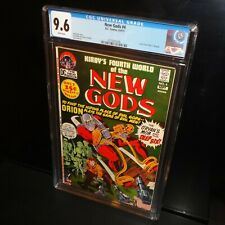 New Gods #4 CGC 9.6 NM+ 1971 Jack Kirby, DC Comics, White Pages