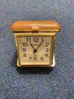 Vintage Seth Thomas Travel Wind Up Alarm Clock-Tested and in Working Condition