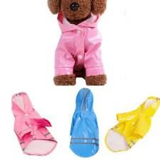 Waterproof Pet Dog Coat Jacket Vest Raincoat Clothes Dog Rain Coat Fashion FM