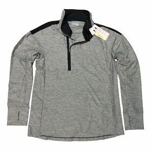 NEW Under Armour Hotshot Women's Medium 1/2 Zip Athletic Workout Running Shirt