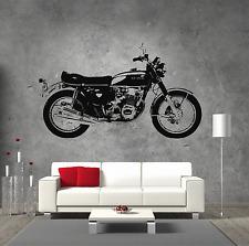 Motorbike Sticker Honda CB750  Vinyl Wall Art Boys Bedroom Garage