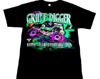 Gravedigger Shirt Keeping the Shovel Sharp Monster Truck Shirt Monster Jam tee S