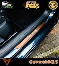 Eaziwrap Seat Leon Cupra MK3.5 Door Sill Guard Vinyl Sticker Decal COPPER