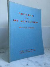Catalogue sales Objects Art and very bel Upholstery 8 December 1969