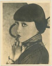 "Anna May Wong - c.1930 - Signed 8x10"" b/w Publicity Shot"