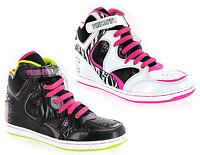 Pineapple Leah Hi-Top Baseball Boots Lightweight Dance Girls Trainers Size 13-5