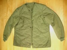 "CANADIAN MILITARY COMBAT COAT LINER SIZE 75/38"" L33"