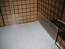 8 piece acrylic edge liner pet rabbit & guinea pig cage urine guard side lining