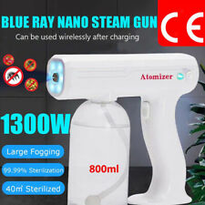800ml Electric Nano Spray Gun Office Home Blue Light Disinfection Fogger Sprayer