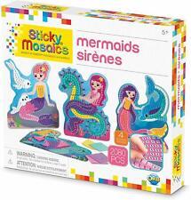 Orb The Factory Sticky Mosaics Mermaids Arts Crafts, Blue/Yellow/Orange/Purple ,
