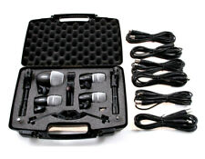 Shure PG Drum Microphone Kit 6 <for Studio or Live> Great Sound & hard as rock!