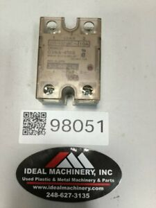 OMRON Solid State Relay G3NA-410B Used #98051