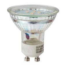 GU10 1 Watt LED Leuchtmittel 230V Spot Strahler Lampe 120° Ra80 EEK A+