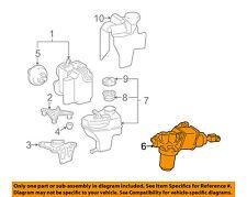 MERCEDES OEM 03-06 E500-ABS Pump & Motor Assy 0004300712