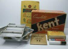 Kent Midget Photo Developing Kit Vintage Rare Arel Inc St Louis Mo