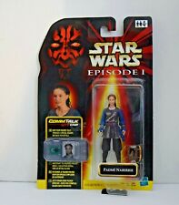 Star Wars Episode 1 Padme Naberrie – Comm Talk – Hasbro – Sealed on Card