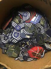 Vintage Patch Lot 25 USA patches USAF Rank Bar Stripes Tabs Rare Shoulder