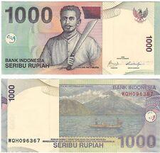 Indonesia 1000 Rupiah 2009 P-141j NEUF UNC Uncirculated Banknote