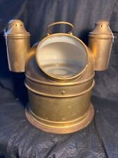 Ships Binnacle Compass brass Kelvin & hughes UK