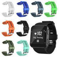 Silicone Watch Bracelet Band Strap + Tool Screws for Garmin Forerunner 35