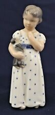 Royal Copenhagen Denmark Girl with Doll Hand-Painted Porcelain 3539 Es