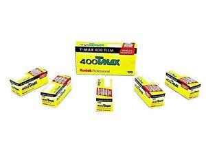 1 x Roll KODAK T-MAX 400 Black & White NEG Film--120 MED FORMAT-expiry: 03/2020