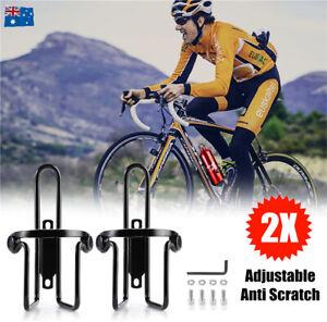 Bike Bicycle Bottle Holder Drink Rack Mountain Bike Cycling Water Bottle Cage AU
