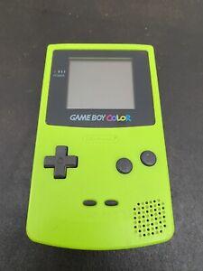 Nintendo Game Boy Colour Green Model CGB-001