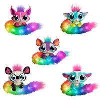 Mattel Lil 'Gleemerz Regenbogen Figur Plüschtiere Farbe Schwanz Fuchs