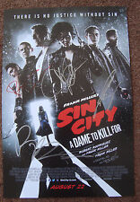 SDCC FRANK MILLER'S SIN CITY A Dame To Kill For SIGNED Jessica Alba