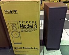 EPI Epicure THE MODEL 3 (1988) BRAND NEW PAIR IN BOX RARE VINTAGE!