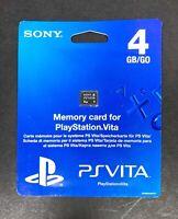 Sony PlayStation PS Vita 4GB Memory Card Storage Gaming PCH-Z041 NEW & SEALED