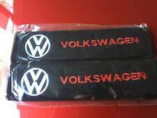 1 pair/2pcs VW Volkswagen Car Seat Belt Shoulder Pads Covers Cushion