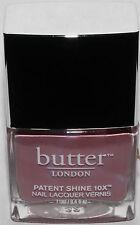 Butter LONDON Patent Shine 10X Nail Polish Lacquer .4 oz **color choices