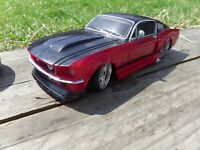 Maisto Tech 1:24 Radio Control RC '67 Red Black Ford Mustang GT Toy Repair Parts