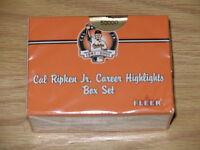 2001 Fleer Cal Ripken Jr. Career Highlights 60 card Factory Sealed Set  (Rookie)