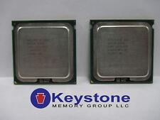 [SCRATCHED] LOT OF 2 Intel Xeon X5365 SLAED 3.0 GHz LGA 771 Quad Core CPU *km