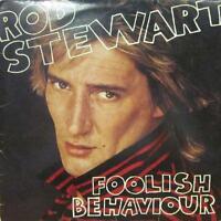 Rod Stewart(Vinyl LP/Poster)Foolish Behaviour -Riva-RVLP 11-65-1980-VG/VG+
