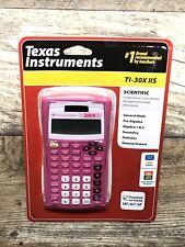 NEW Texas Instruments PINK TI-30X IIS 2-Line Scientific Calculator High School